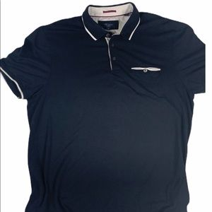 Ted Baker London Polo Golf Shirt Size 6 (2XL)